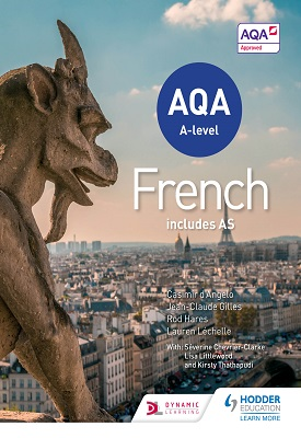 AQA A-level French – includes AS – 9781471857973
