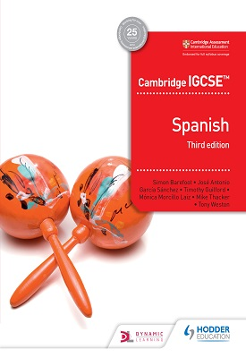 Cambridge IGCSE Spanish Student Book Third Edition – 9781510448483