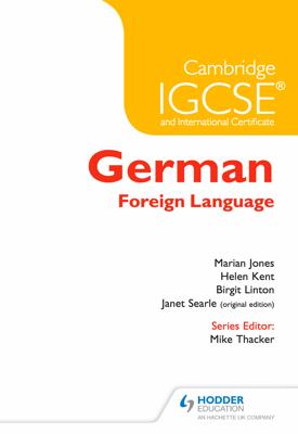 Cambridge IGCSE® German Foreign Language – 9781471833083